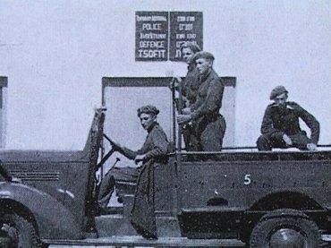 משטרת הישובים תחנת משטרה בצופית בקומת הקרקע של בית העם