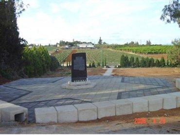 האנדרטה לאחר השיפוץ בשנת 1986