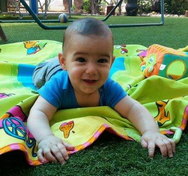 עומר בן יעל וספי אברמסון  נולד ב - 21.10.2012