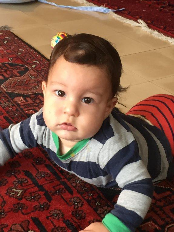 נדב חן נולד לאסף ורתם ביום 23.9.2015
