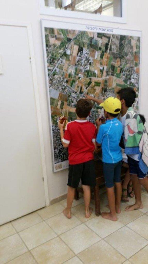 בין ביס לביס מתעניינים במפת האזור