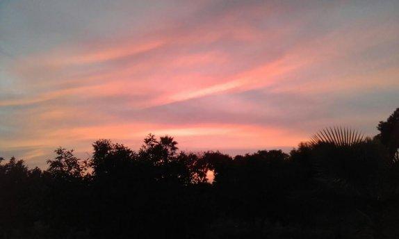 שקיעה בשמי צופית. צילום: דורית אברמסון
