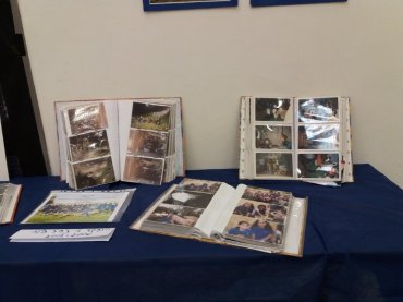 אלבומי תמונות שהופקדו על ידי זהר הלוי המדריכה